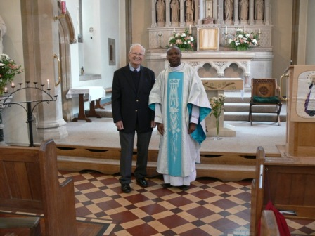 Deacon John and Father Issy